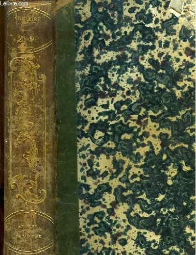 Oeuvres complètes de Voltaire. TOME 24 : Annales de l'Empire.