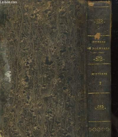 Oeuvres complètes de Bourdaloue, TOME XI, Mystères, 2e partie.