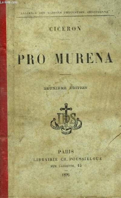 Plaidoyer pour Murena.