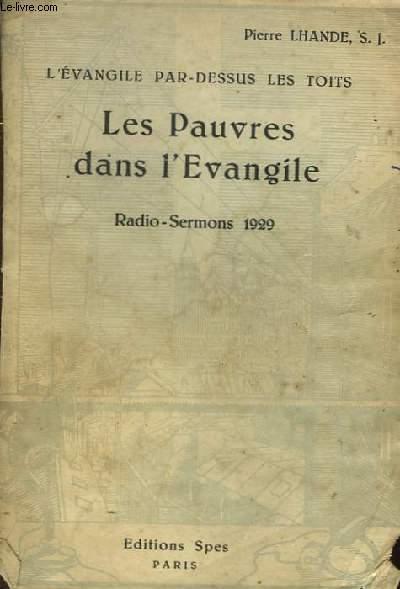 Les Pauvres dans l'Evangile. Radio-Sermons 1929.