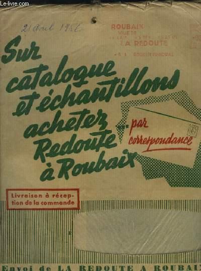 la redoute roubaix catalogue printemps et 1956 articles d usage et de qualit la redoute. Black Bedroom Furniture Sets. Home Design Ideas