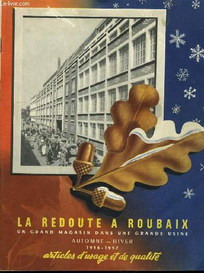 la redoute roubaix catalogue automne hiver 1956 1957 articles d usage et de qualit la. Black Bedroom Furniture Sets. Home Design Ideas
