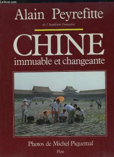 Chine, immuable et changeante
