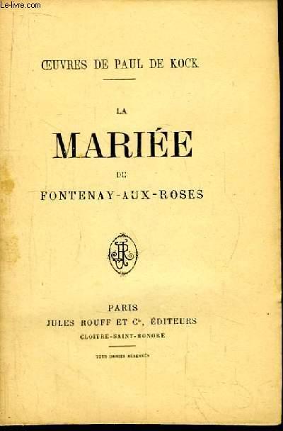 La Mariée de Fontenay-aux-Roses.