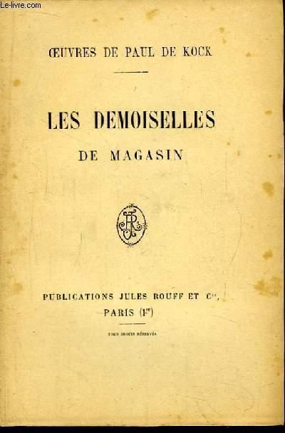 Les Demoiselles de Magasin.
