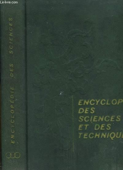 Encyclopédie des Sciences et des Techniques. TOME 3