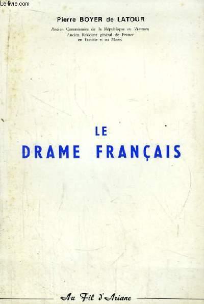 Le drame français.