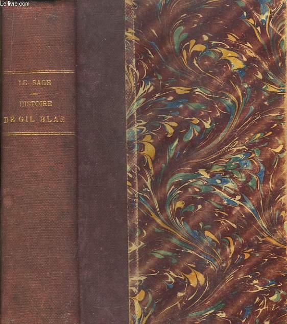 Histoire de Gil-Blas de Santillane.
