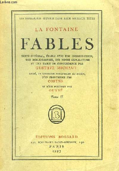 Fables. TOME II
