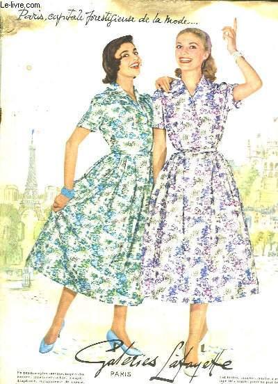 Catalogue des Galeries-Lafayette. Printemps - Eté 1956