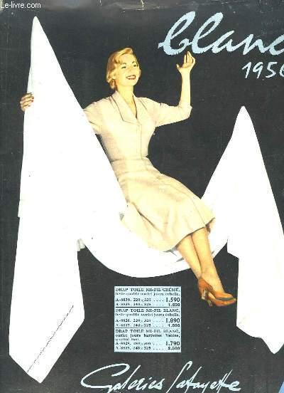 Catalogue des Galeries-Lafayette. Blanc, 1956