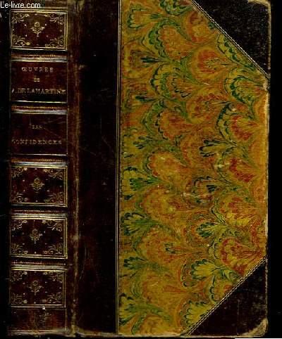 Oeuvres de A. Lamartine. Les Confidences. Graziella.