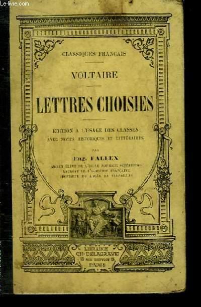 Lettres Choisies.