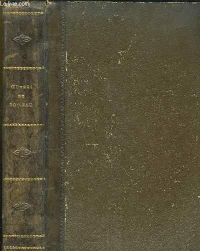 Oeuvres complètes de Boileau-Despréaux. Nouvelle édition conforme au texte donné par Berriat-Saint-Prix avec les notes de tous les commentateurs publiée par CHERON Paul.