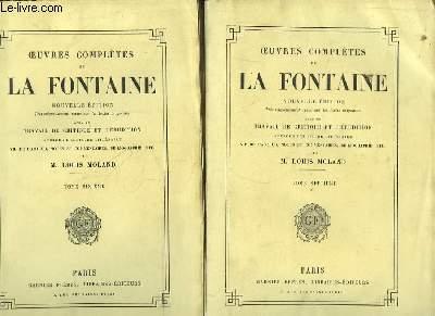 Oeuvres Complètes de La Fontaine. TOMES 6 et 7 : Oeuvres Diverses, 1ère et 2ème parties