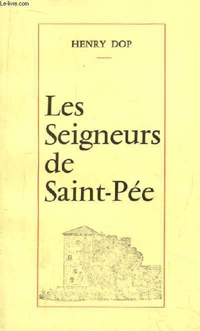 Les Seigneurs de Saint-Pée. Recueil d'études et de documents