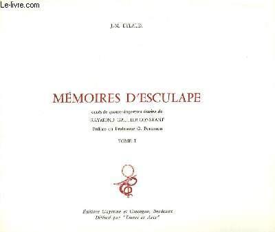 Mémoires d'Esculape. En 2 TOMES