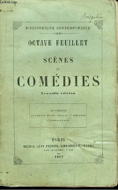 Scènes et Comédies. Le village, Le cheveu blanc, Dalila, L'Ermitage, L'Urne, La Fée.