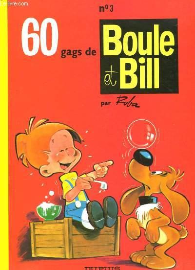 Boule et Bill N°3 : 60 gags de Boule et Bill