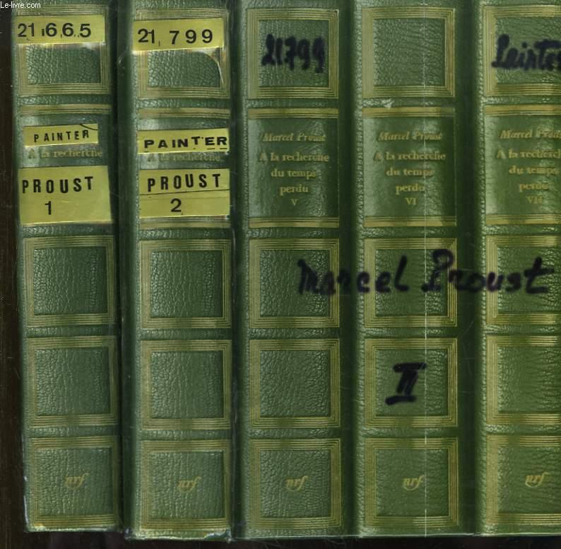 Marcel Proust. En 2 TOMES : Tome 1er, Les années de jeunesse (1871 - 1903) - Tome 2 : Les années de maturité (1904 - 1922)
