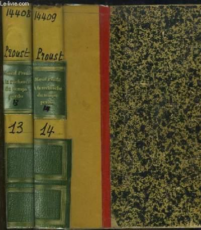 Le Temps retrouvé, en 2 volumes. A la recherche du temps perdu, tomes VIII