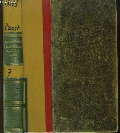 A la recherche du temps perdu, tome IV. Le Coté de Guermantes, TOME II - Sodome et Gomorrhe, TOME I