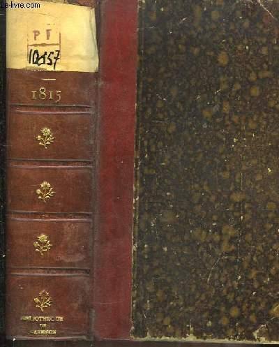 1815. La seconde abdication - La Terreur Blanche.