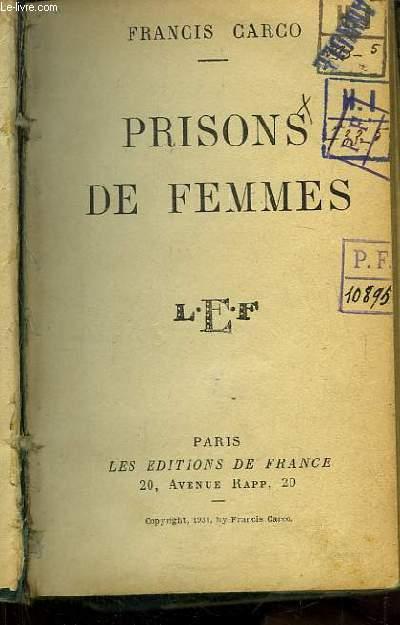 Prisons de Femmes.