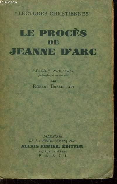 Le Procès de Jeanne d'Arc. Lectures Chrétiennes.