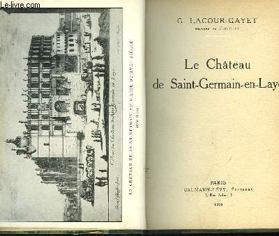 Le Château de Saint-Germain-en-Laye.