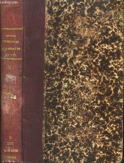Les Origines Diplomatiques de La Guerre de 1870 - 1871. Recueil de Documents. TOME II : 22 février 1864 - 9 mai 1864