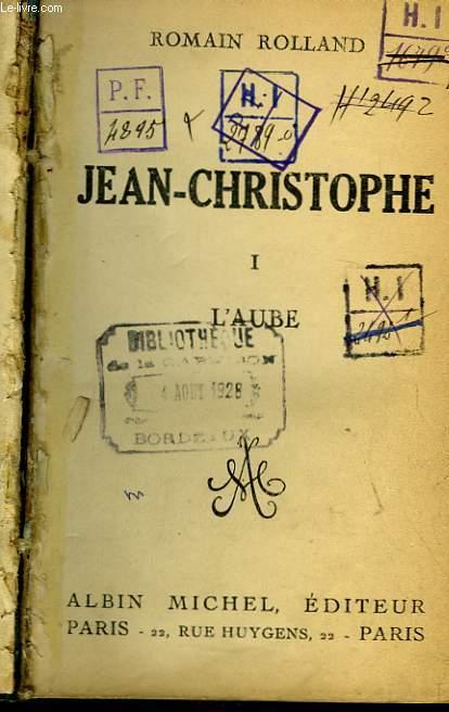 Jean-Christophe. TOME 1 : L'Aube