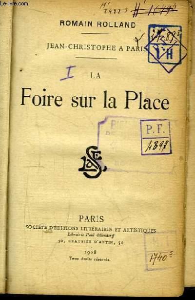 Jean-Christophe à Paris. La Foire sur la Place