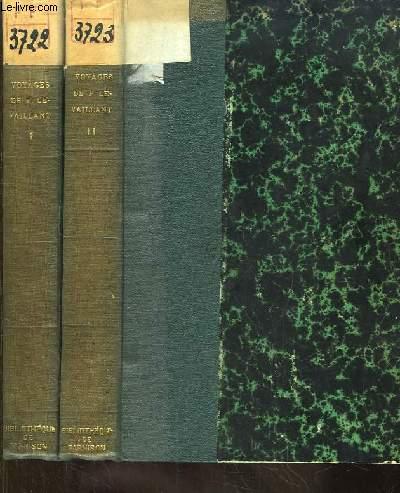 Voyages de F. Le Vaillant dans l'intérieur de l'Afrique 1781 - 1785. EN 2 TOMES