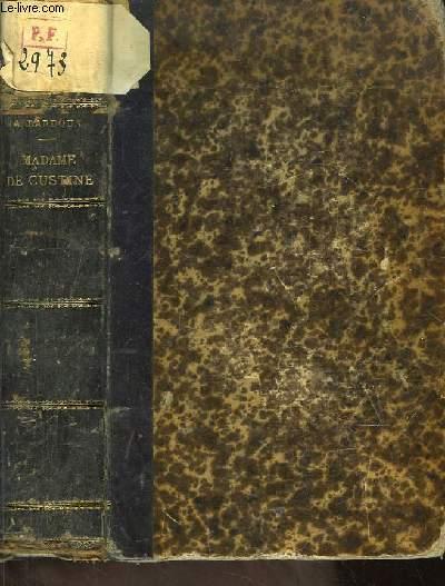 Madame de Custine, d'après des documents inédits. Etudes sociales et littéraires.