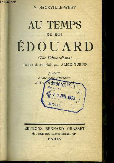 Au Temps du Roi Edouard (The Edwardians)