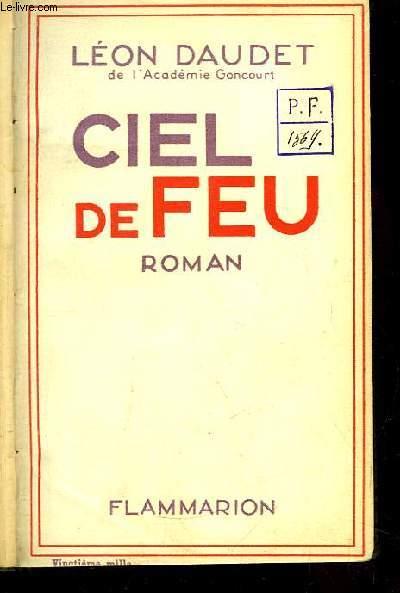 Ciel de Feu. Roman
