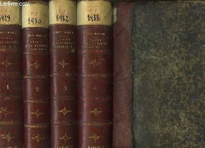 Traité Théorique et Pratique d'Economie Politique. EN 4 VOLUMES