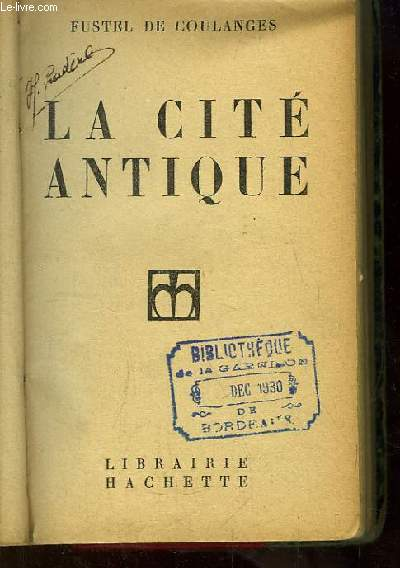 La Cité Antique.