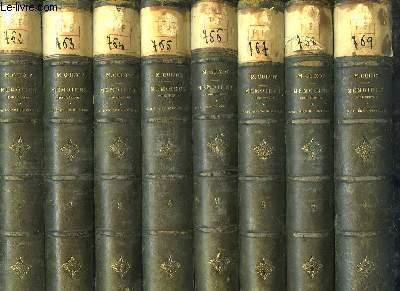 Mémoires pour servir à l'Histoire de mon Temps. EN 8 VOLUMES