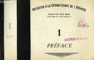 Initiation à la Connaissance de l'Univers N°1 : Préface, 1ère partie :