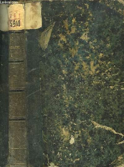 Oeuvres Complètes de Jean-Baptiste-Poquelin de Molière, illustrées de gravures. TOME 2 : Le Tartuffe, Amphitryon, George Dandin, L'Avare, M. de Pourceaugnac, Les Amants Magnifiques, Le Bourgeois Gentilhomme, Les Fourberies de Scapin ...