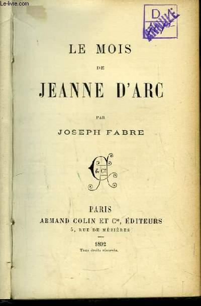 Le Mois de Jeanne d'Arc