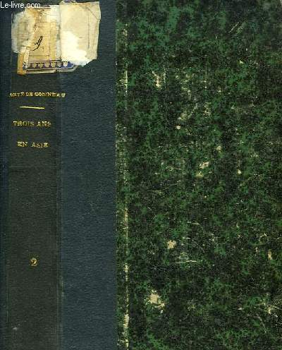Trois ans en Asie (de 1855 à 1858). TOME II