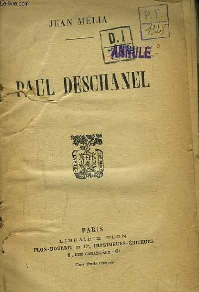 Paul Deschanel.