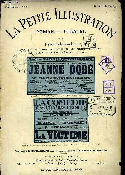 Jeanne Doré. Pièce en 5 actes et 7 tableaux. Suivi de La Victime, de Fernand Vandérem et Franc-Nohain (En 3 actes)