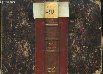 Oeuvres de Sully Prudhomme. Poésies 1865 - 1866. Stances & Poèmes.