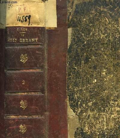 Le Juif Errant. 2ème volume contenant les TOMES III et IV