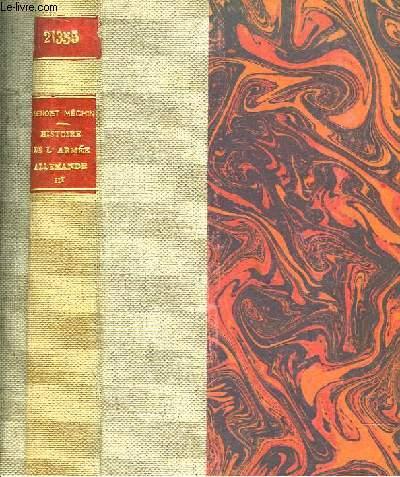 Histoire de l'Armée Allemande III : L'Essor 1925 - 1937