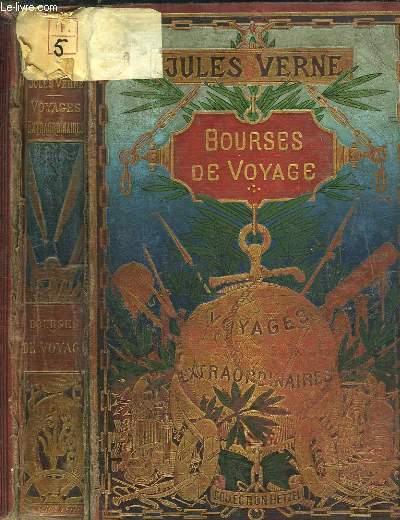 Bourses de Voyage. Voyages Extraordinaires. (En l'état).